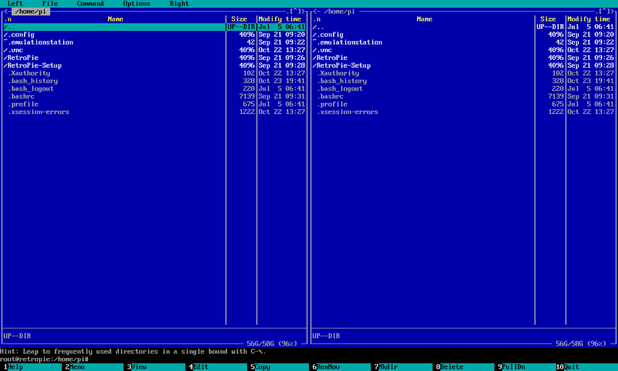 Raspberry Pi Screenshot