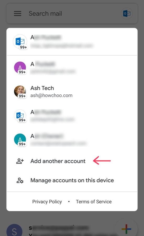 Add Gmail Account