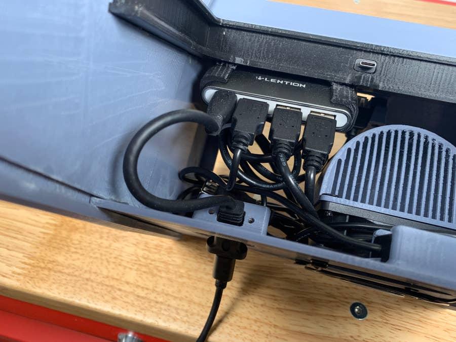 Switch arcade cabinet power