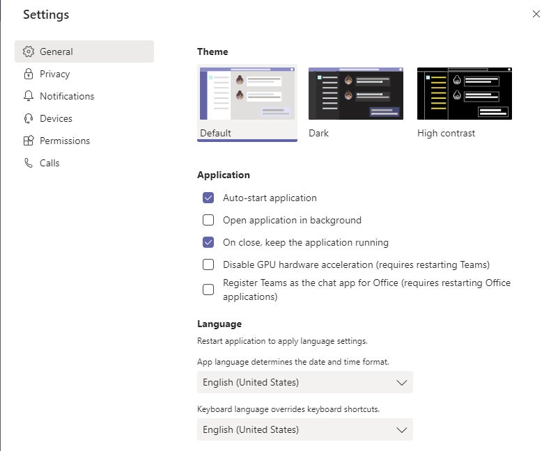 Enable Microsoft Teams