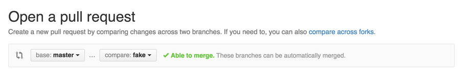Choose your branches