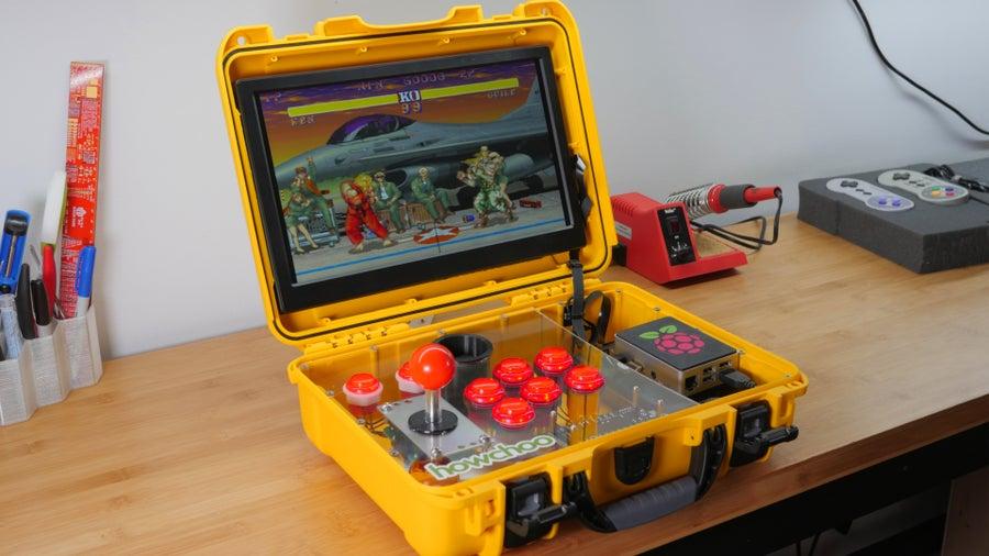 Adventurepi The Ultimate Diy Raspberry Pi Portable Arcade Howchoo