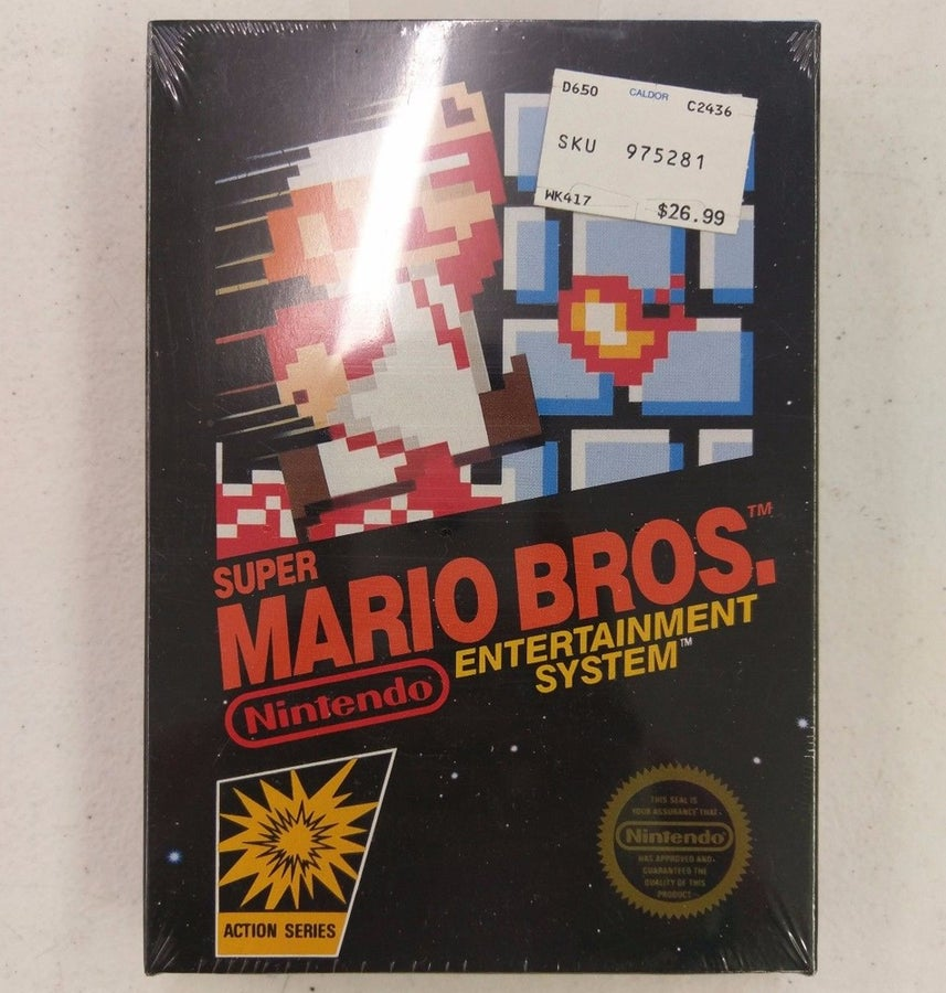 Sealed Super Mario Bros.
