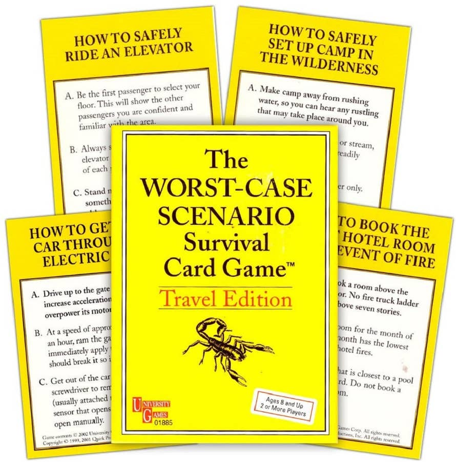 The Worst-Case Scenario Survival Card Game: Travel Edition (2002)