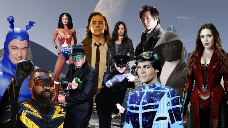 A Fan's Guide to the Top Superhero Series