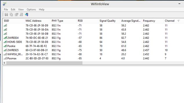 WifiInfoView (Windows Users)