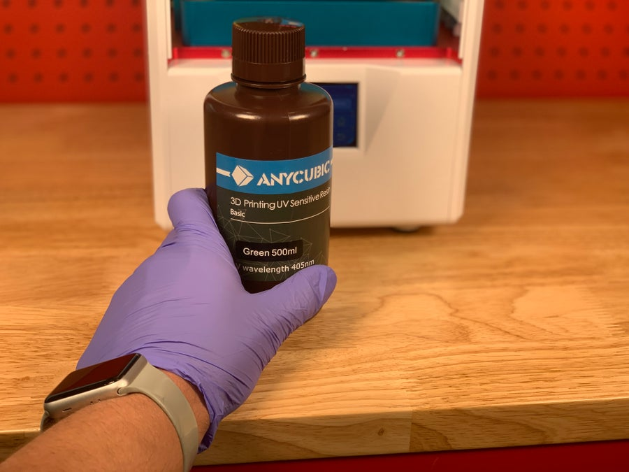 Anycubic Photon safety gear