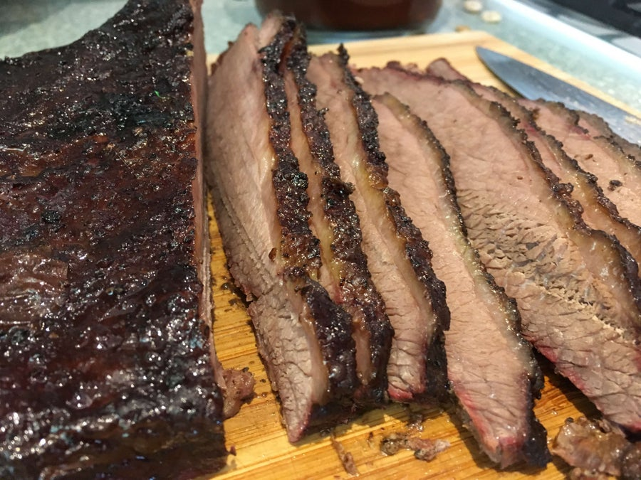 Smoking Brisket On a Gas Grill