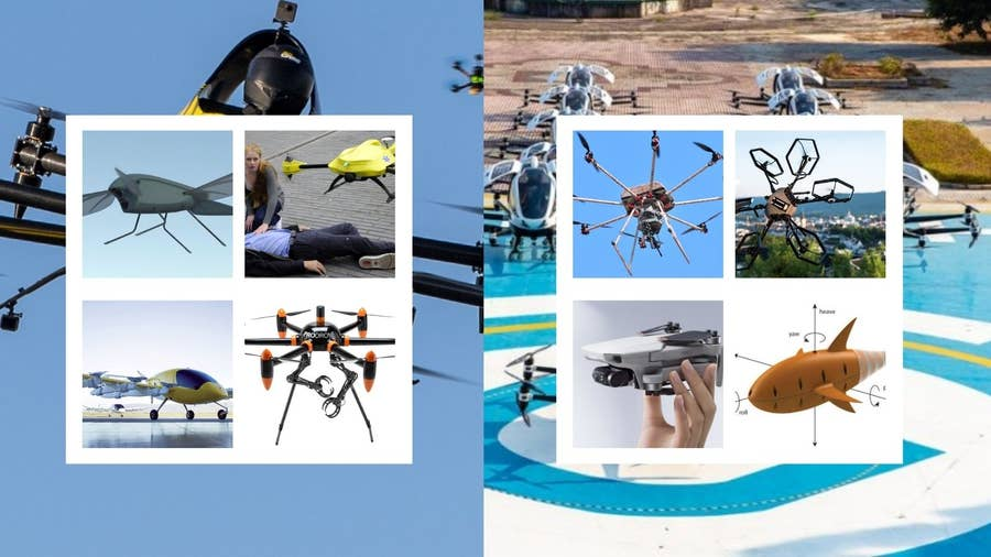 The Coolest and Strangest Drones Ever