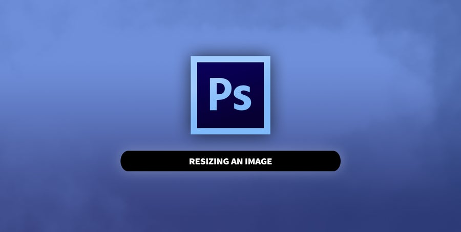 Photoshop Resize an Image