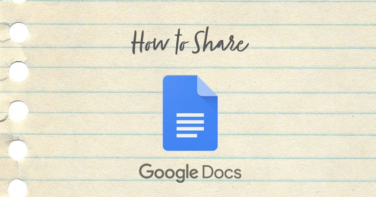 How to share a google doc