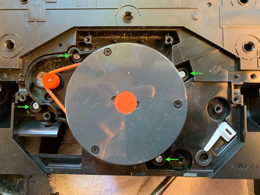 Removing the Roborock S5 LIDAR assembly