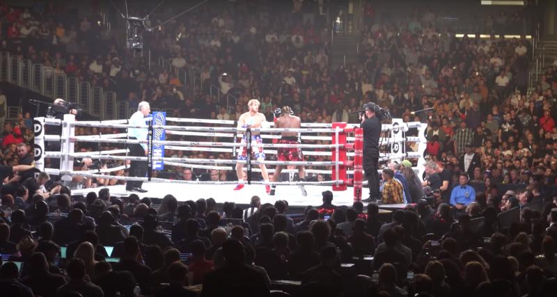 ksi logan paul boxing