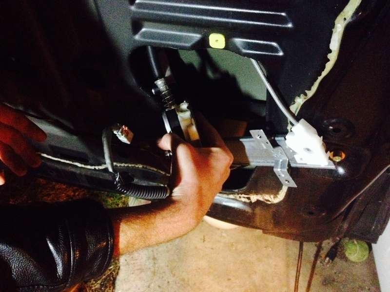 Remove the regulator assembly