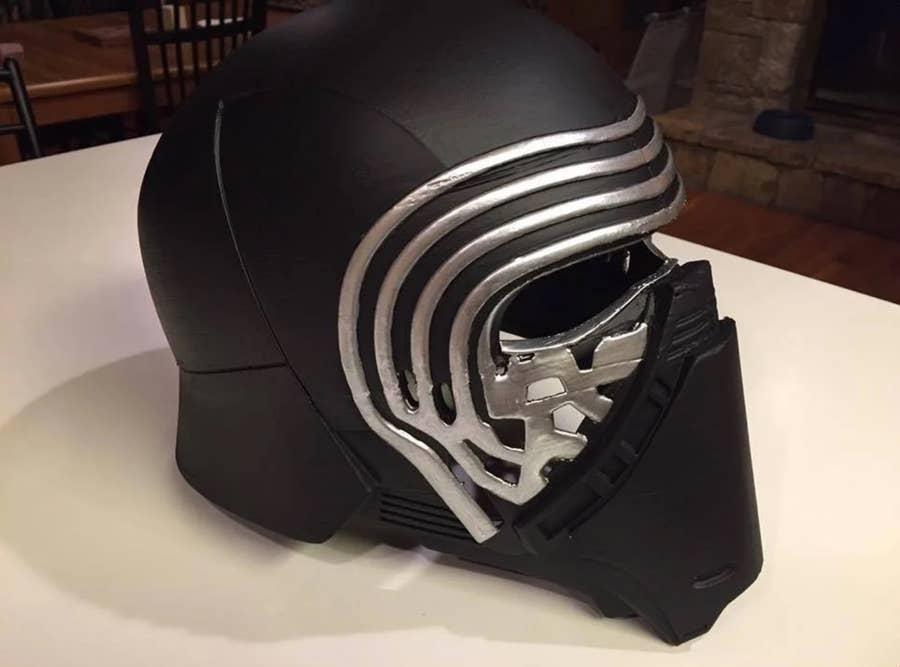 Kylo Ren 3D printed mask