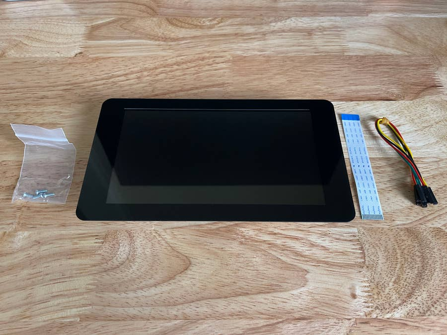Raspberry Pi touch display parts