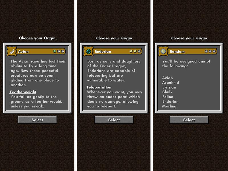 minecraft fabric server mods origins
