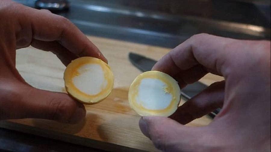 Make Inside-Out Eggs