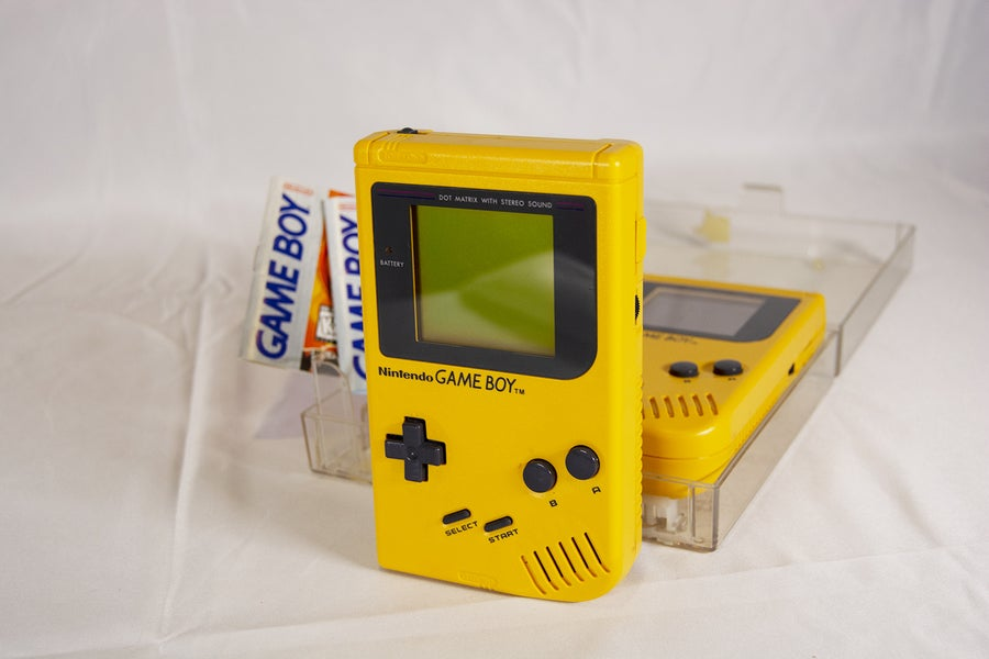 Yellow Play It Loud Game Boy