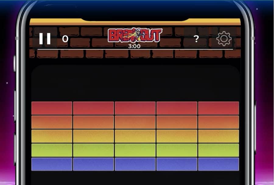 Atari Breakout App iPhone