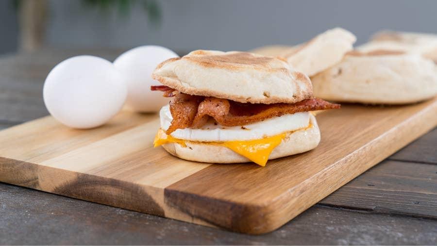 Another breakfast sandwich.