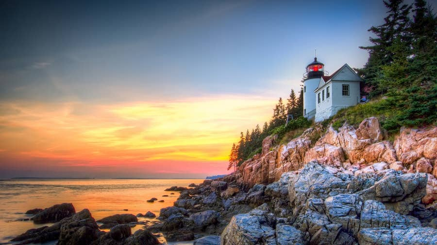Acadia National Park and Bar Harbor, Maine
