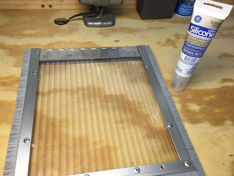 Seal everything using silicone