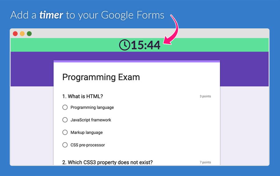 quilgo google forms addon