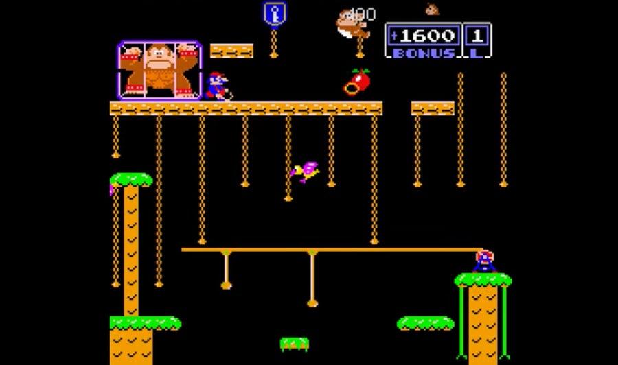 Screenshot of Donkey Kong Jr