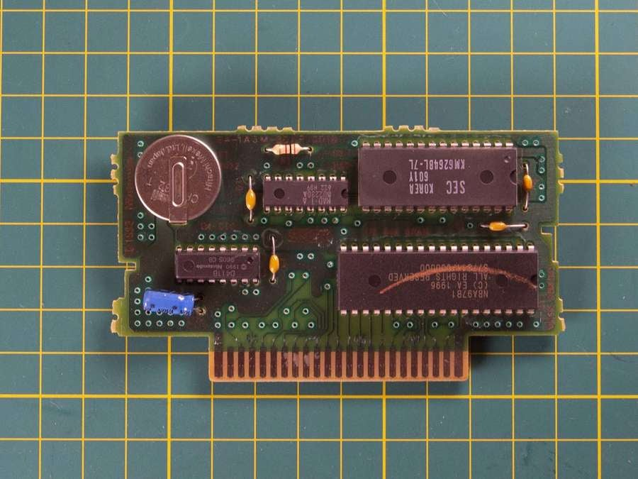 SNES cartridge board