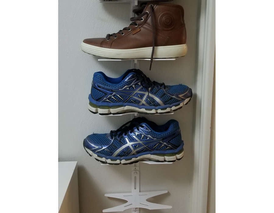 3D printed shoe rack shelf