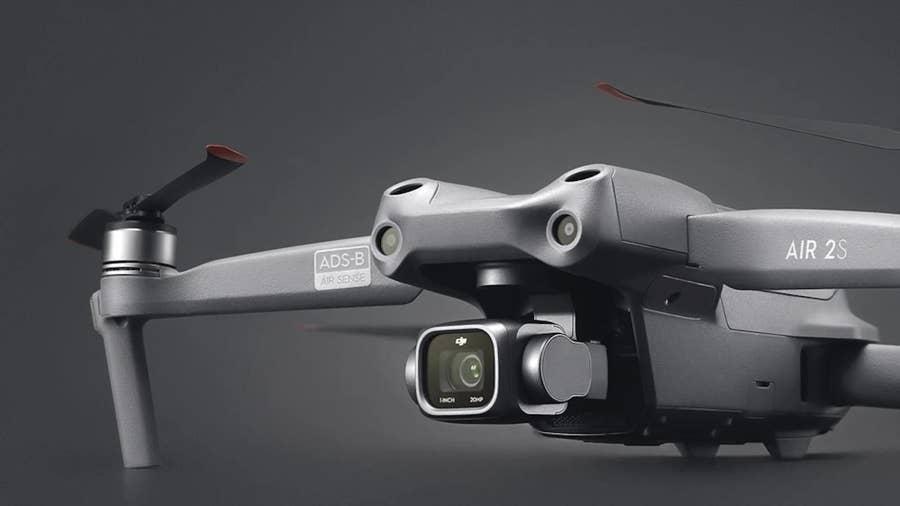 DJI Air 2S 5k camera drone