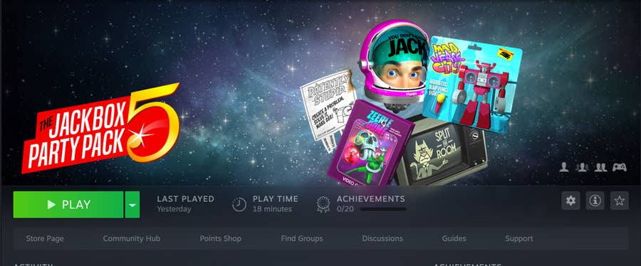 Jackbox Party Pack 5 in Steam