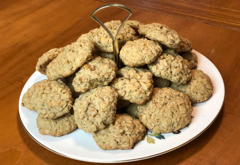 lactation cookies on table