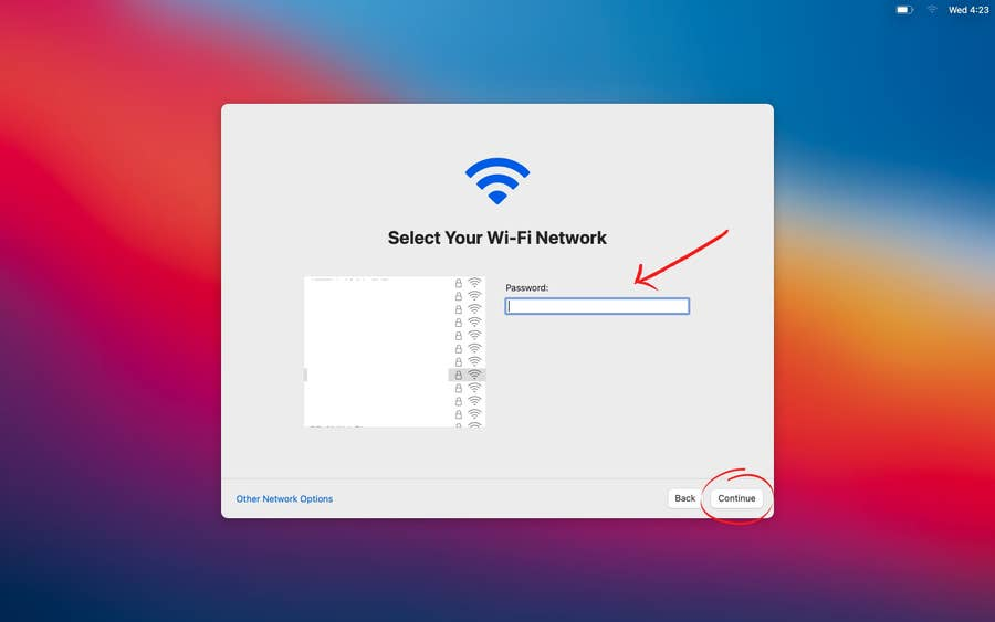 Sign into Your Wi-Fi Network