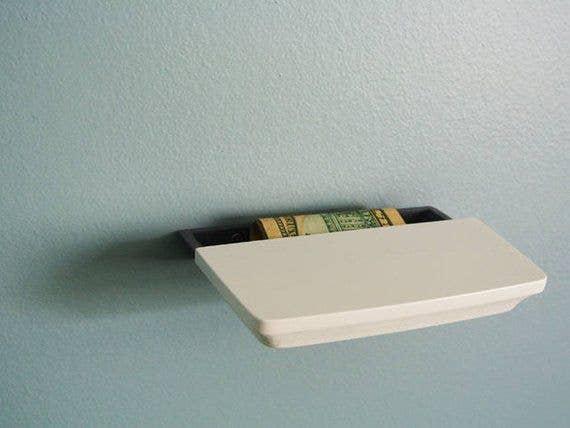 3d printed secret shelf