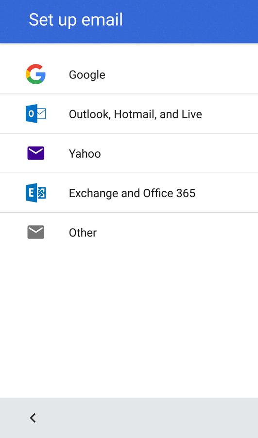 Gmail Account Type