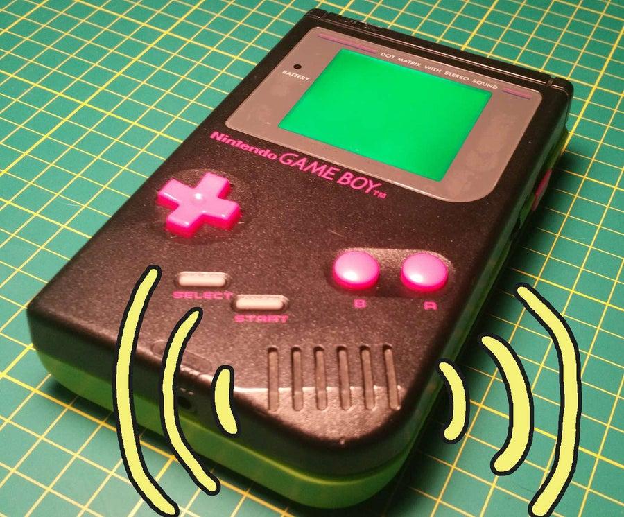 Game Boy bass boost mod
