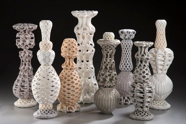 kate Blacklock 3d printed sculpture