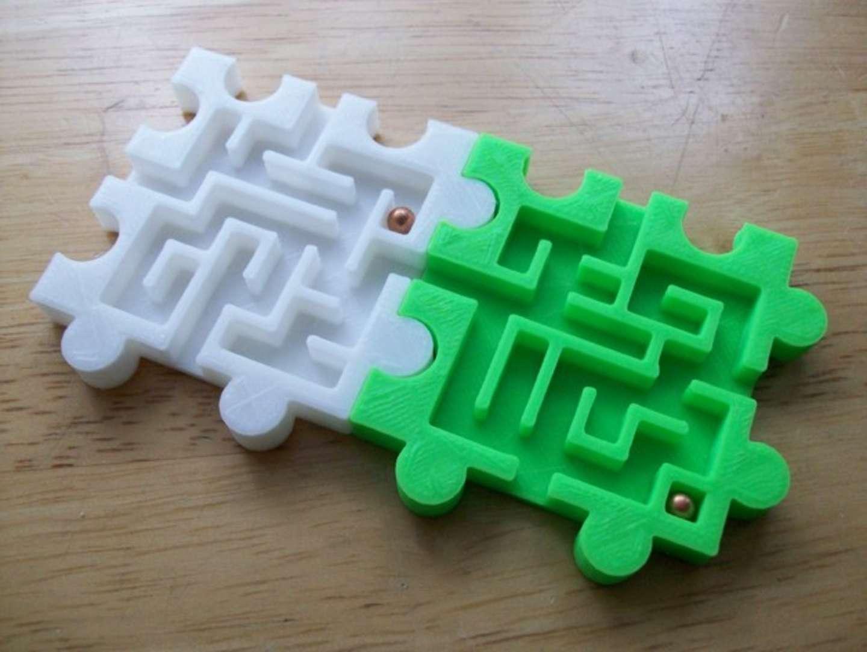Modular Puzzle Mazes