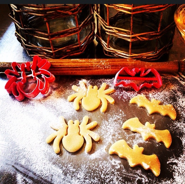 3D-printed spider cookie cutters