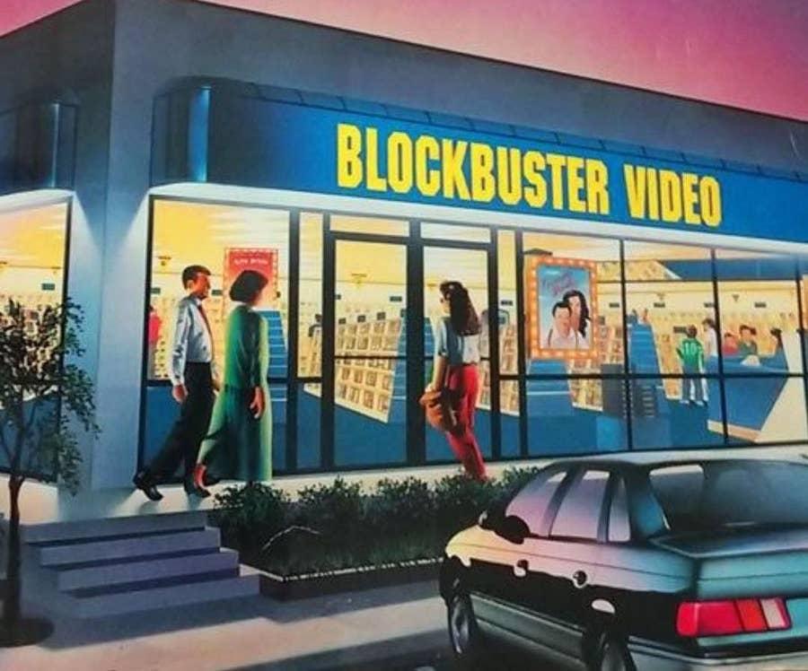 Blockbuster Video Artwork