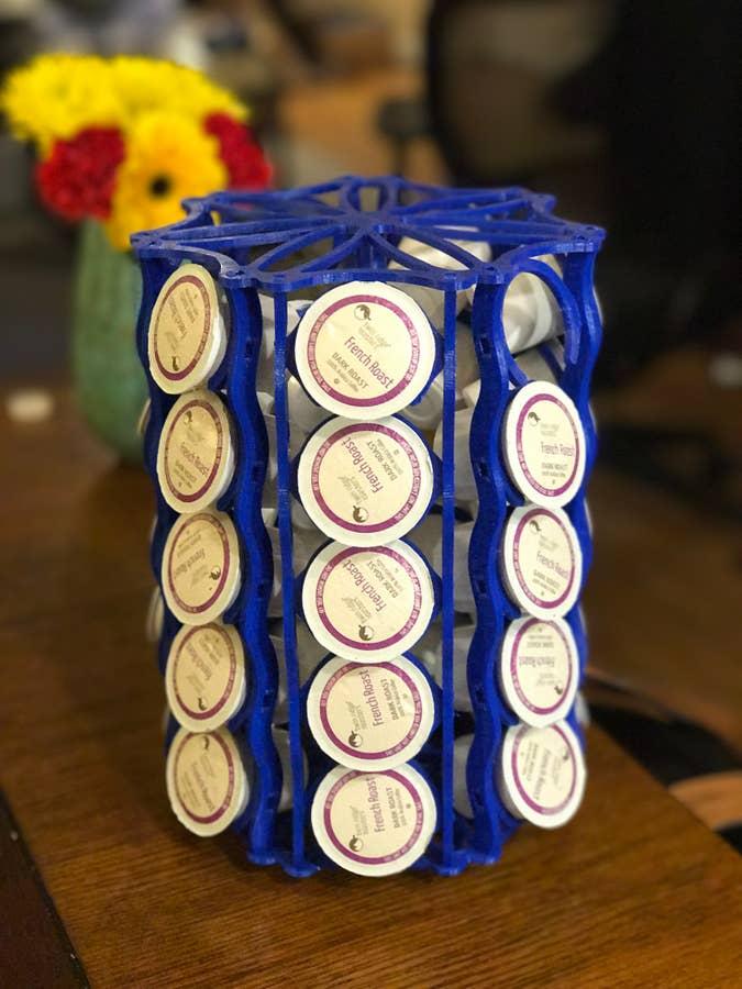 3D-printed K-Cup holder