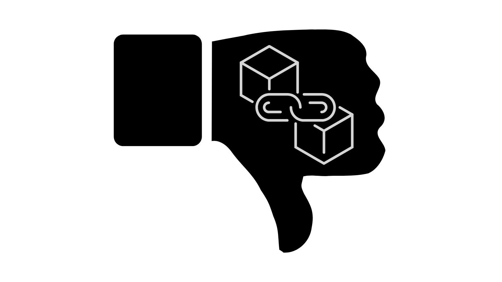 Cons of blockchain and decentralized storage