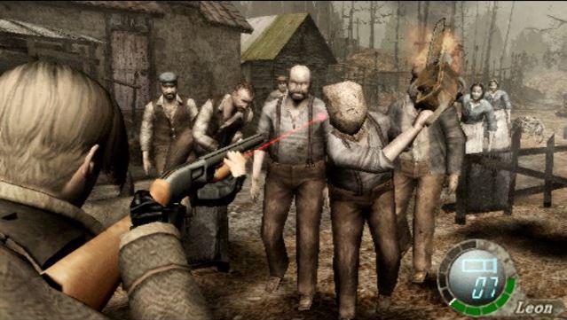 Resident Evil 4 Gamplay