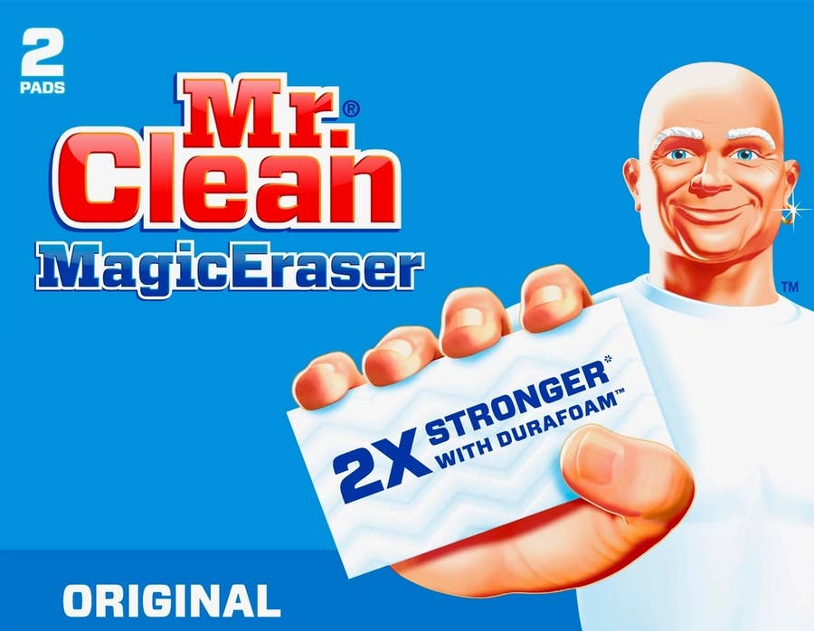 Magic Eraser Cleaning hack