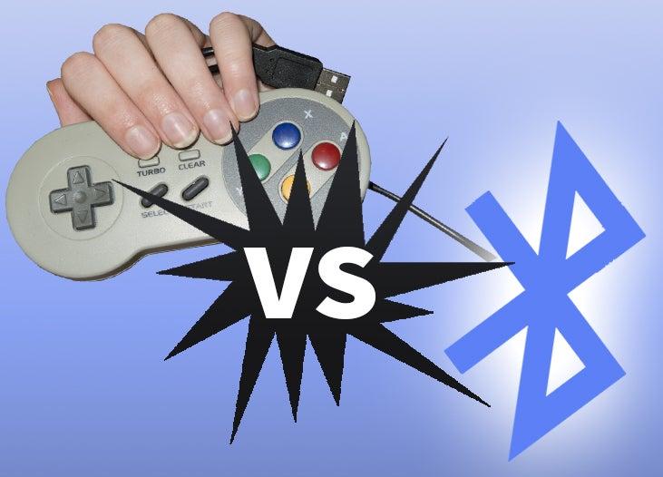 Bluetooth vs USB controllers for RetroPie