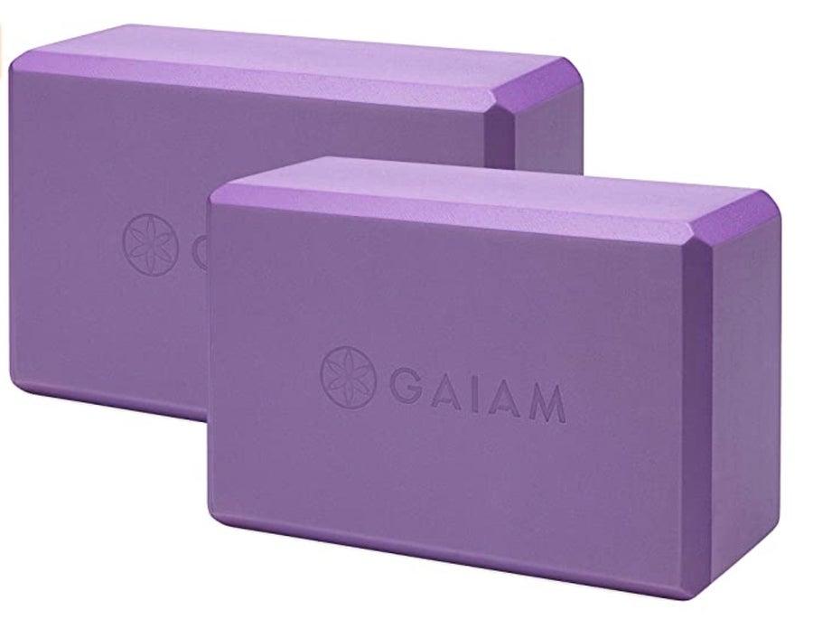 Gaiam blocks.