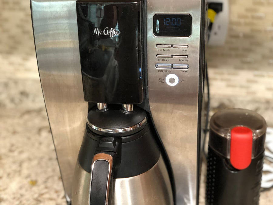 Coffee Maker Brewing