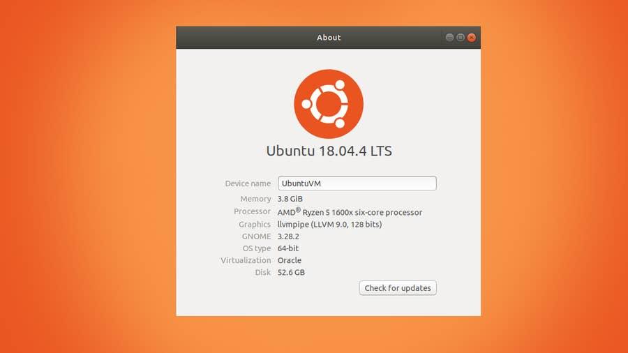 Check Ubuntu Version